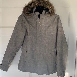 Jackets & Blazers - Ladies Heathered Grey Winter Jacket